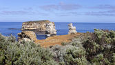 View from the great ocean road Australia — Stock Photo