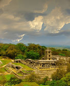 Ancient mayan ruins Palenque — Stock Photo