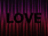 Mörka hjärtan bakgrund — Stockvektor