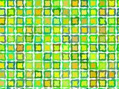 Retro green tiled background pattern — Stock Vector