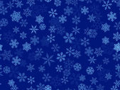 Seamless background of transparent snowflakes — Stock Vector