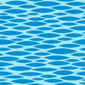 Seamless pattern with stylized waves — Stock Vector