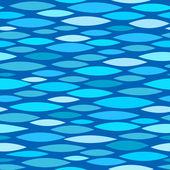 Seamless pattern with stylized waves — Stok Vektör