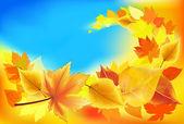 Jesieni w tle — Wektor stockowy