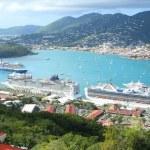 St Thomas harbor of US virgin islands — Stock Photo #40782637