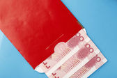 Red envelope — Stock Photo