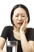 Tooth pain — Stock Photo