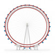 Stock Photo: 3d london eye symbol