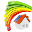 3d Energy efficiency concept - Stock Photo
