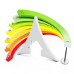 3d Energy efficiency concept — Stock Photo