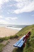 Summer atlantic beach views — Stock Photo