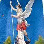Постер, плакат: Saint michael slaying the devil