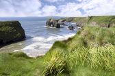 Atlantic virgin rock view — Stock Photo