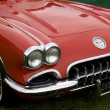 Classic chevrolet corvette — Stock Photo #24605143