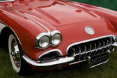 Classic chevrolet corvette — Stock Photo