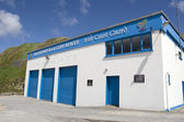 Ballybunion sea and cliff rescue centre building — Stock Photo