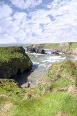 Wild Atlantic virgin rock and coast — Stock Photo