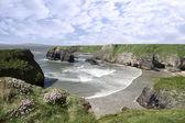 Wild Atlantic virgin rock view — Stock Photo