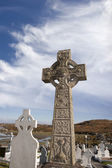 Graveyard in Kincasslagh county Donegal — Stock Photo