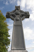 Saint Columba memorial celtic cross — Zdjęcie stockowe