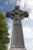Saint Columba memorial celtic cross — Foto Stock