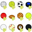 Stock Vector: Sports betting icons