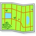 Cartoon Map — Stock Vector #14424075