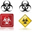 biohazard sign — Stock Vector