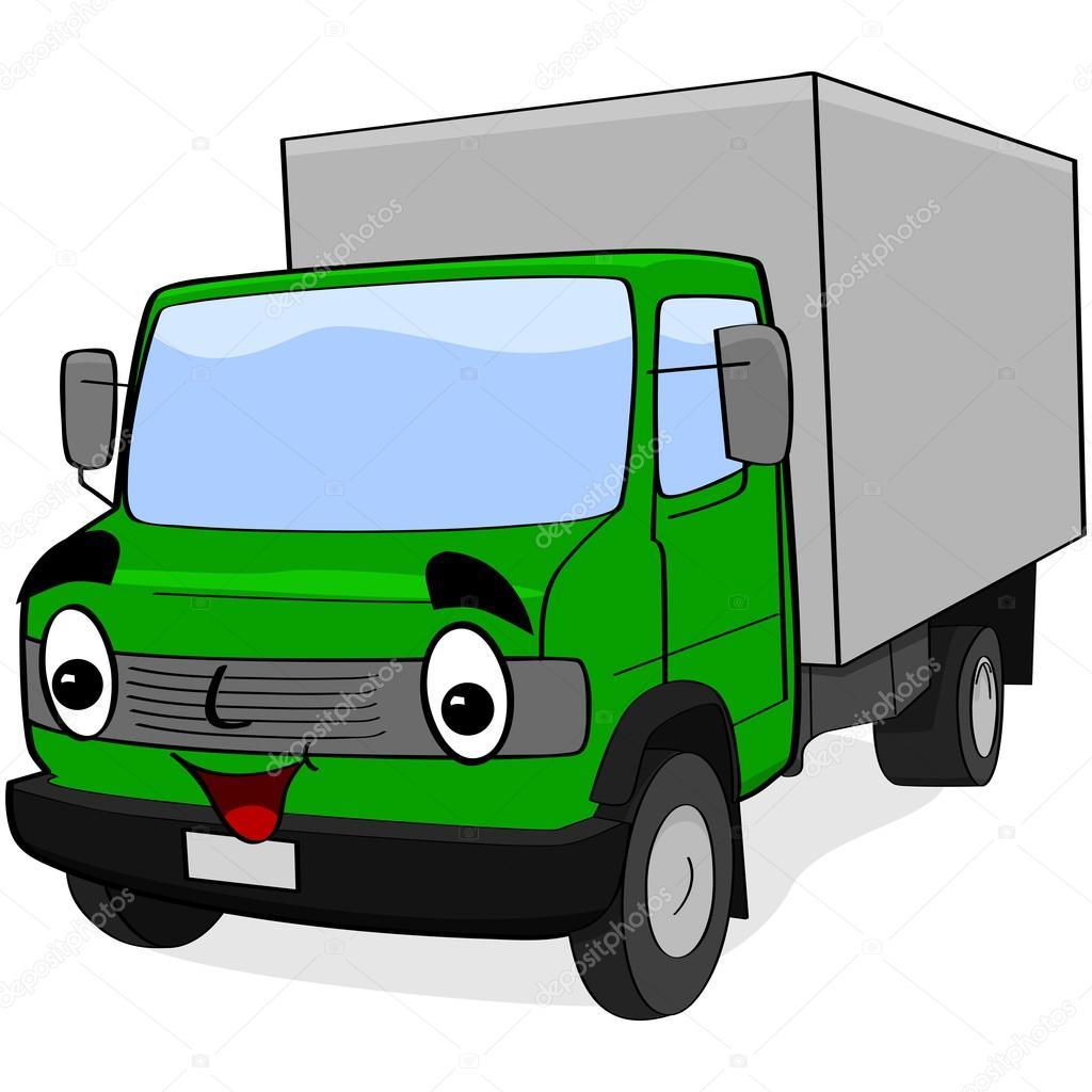 Enterprise Moving Trucks >> Cartoon truck — Stock Vector © bruno1998 #21065357