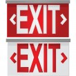 Exit signs — Stock Vector