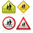 Stock Vector: School signs