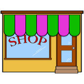Store front — Stock Vector
