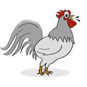Gallo de dibujos animados — Vector de stock