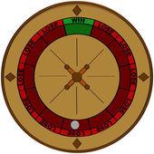 Gambling odds — Stock Vector