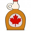 Maple syrup — Stock Vector