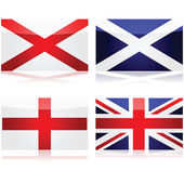 Creating the Union Jack — Stock Vector