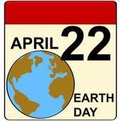 Giornata della terra — Vettoriale Stock