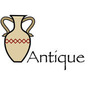 Antique vase — Vetorial Stock