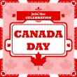 Canada Day celebration — Stock Vector #45698631