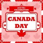 Canada Day celebration — Stock Vector