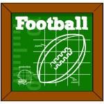 Football lesson — Stock Vector