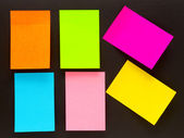 Sticky notes — Stockfoto