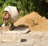 Concrete mixer — Stock Photo