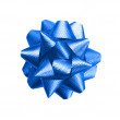 Gift blue bow — Foto de Stock