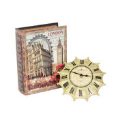 Clock book — Stock fotografie