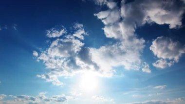 空の雲 — ストックビデオ