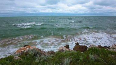 Deniz Körfezi — Stok video