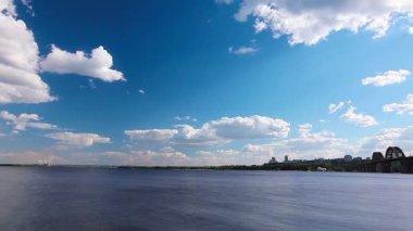 Lago de verano — Vídeo de stock