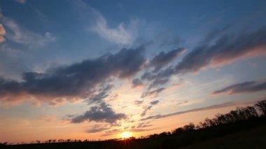 Sunset Sky — Stock Video