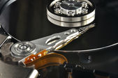 Opened hard disk drive — Stock Photo